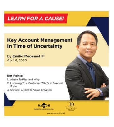Key Account Management in Time of Uncertainty