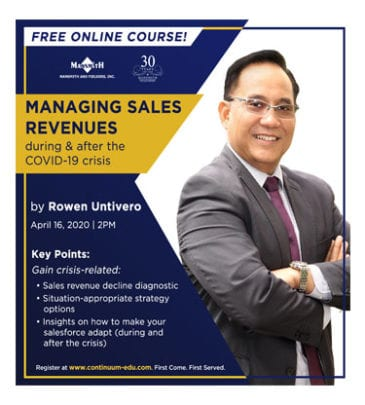 Managing Sales Revenues