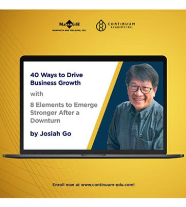 40 Ways to Drive Business Growth with 8 Elements to Emerge Stronger After a Downturn