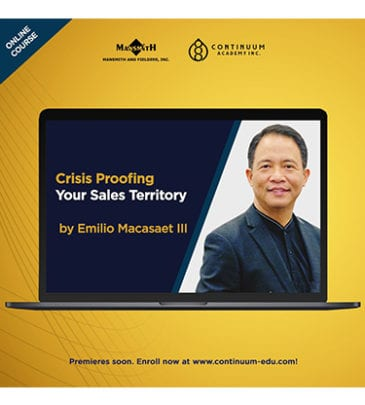 Crisis Proofing Your Sales Territory