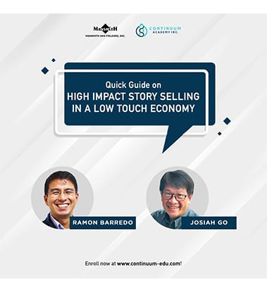 High Impact Story Selling in a Low Touch Economy