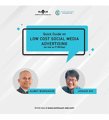 Low Cost Social Media Advertising
