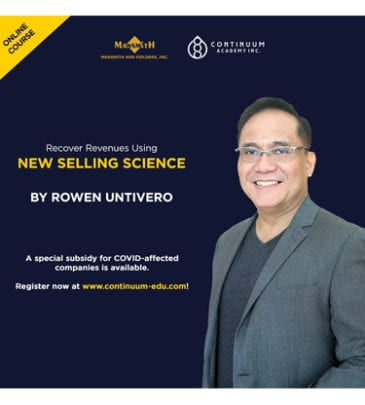 Recover Revenues Using New Selling Science