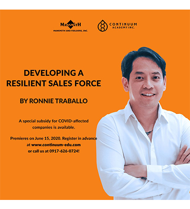Developing a Resilient Sales Force
